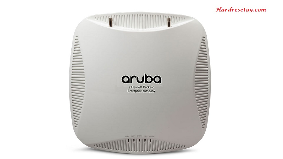 Aruba 204 Router - How to Reset to Factory Settings
