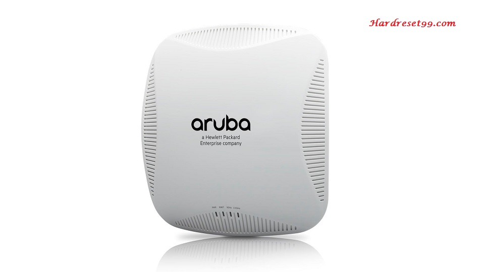 Aruba 224 Router - How to Reset to Factory Settings