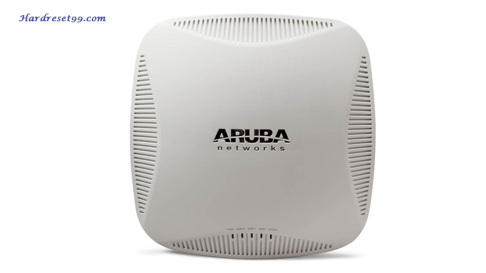 Aruba 225 Router - How to Reset to Factory Settings