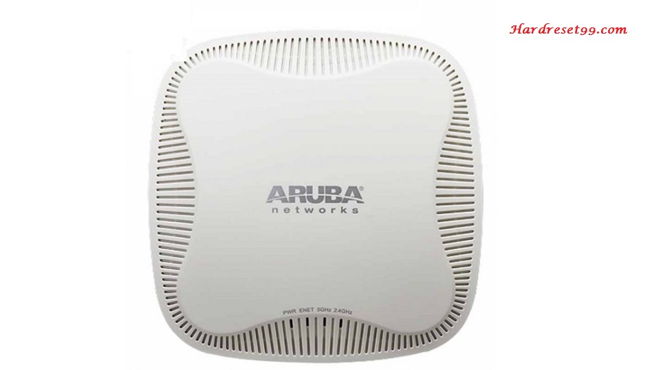 Aruba Instant 205 Router - How to Reset to Factory Settings
