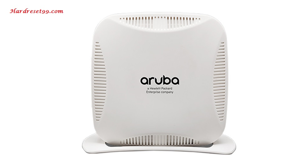 Aruba Rap-109 Router - How to Reset to Factory Settings