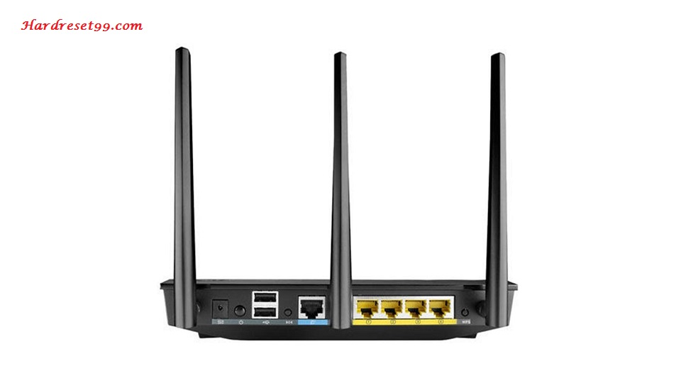Asus RT-AC66U Router - How To Reset To Factory Defaults Settings