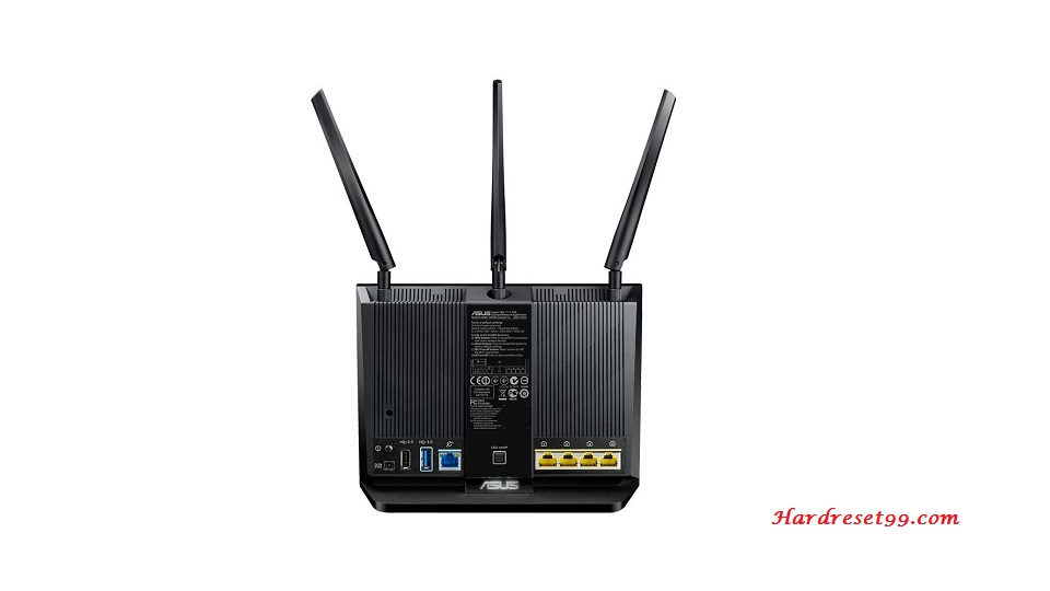 Asus RT-AC68U Router - How To Reset To Factory Defaults Settings
