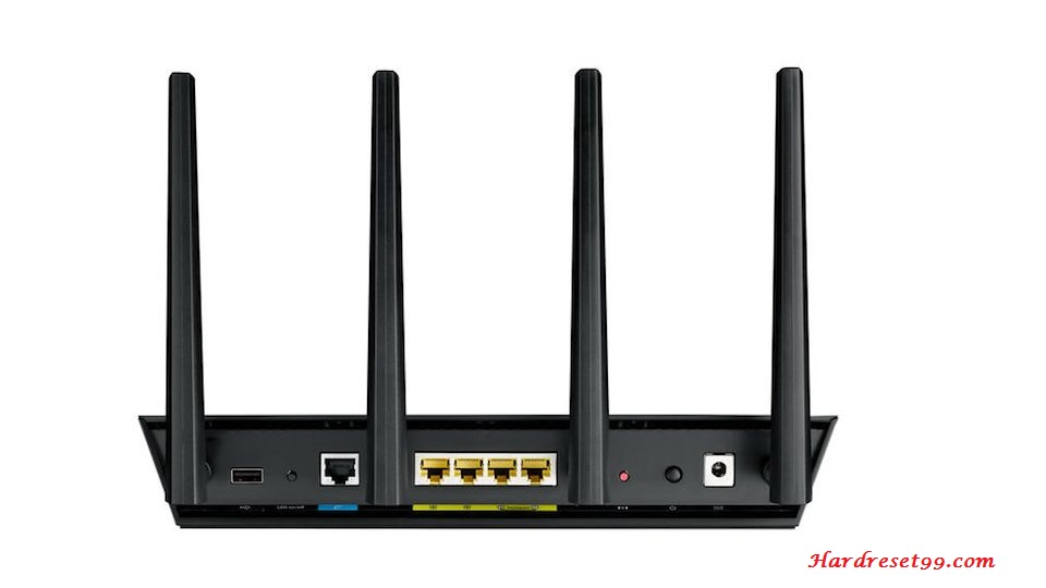 Asus RT-AC87R Router - How To Reset To Factory Defaults Settings