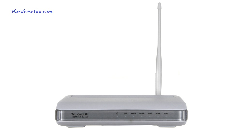 Asus WL520GU Router - How To Reset To Factory Defaults Settings