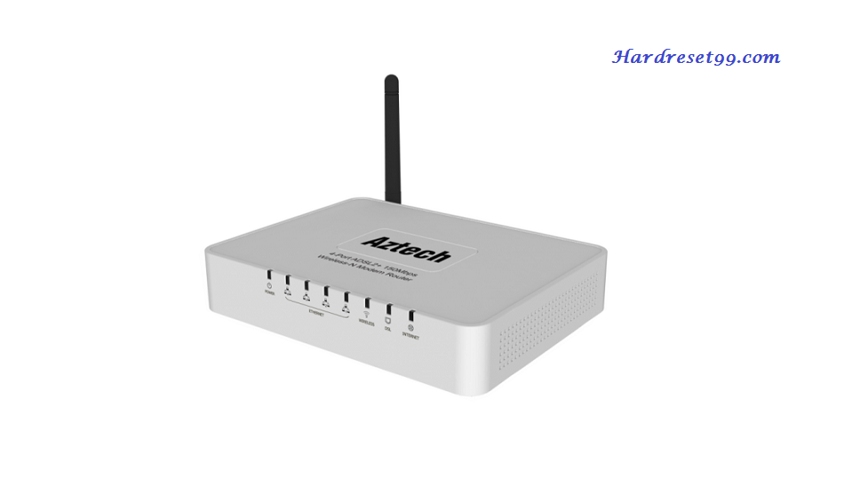 Aztech DSL5018EN Router - How to Reset to Factory Settings