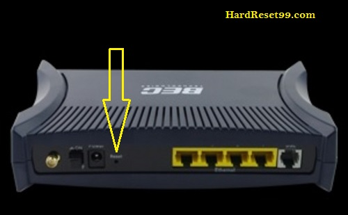 BEC-Technologies 5200W Router - How to Reset to Factory Settings