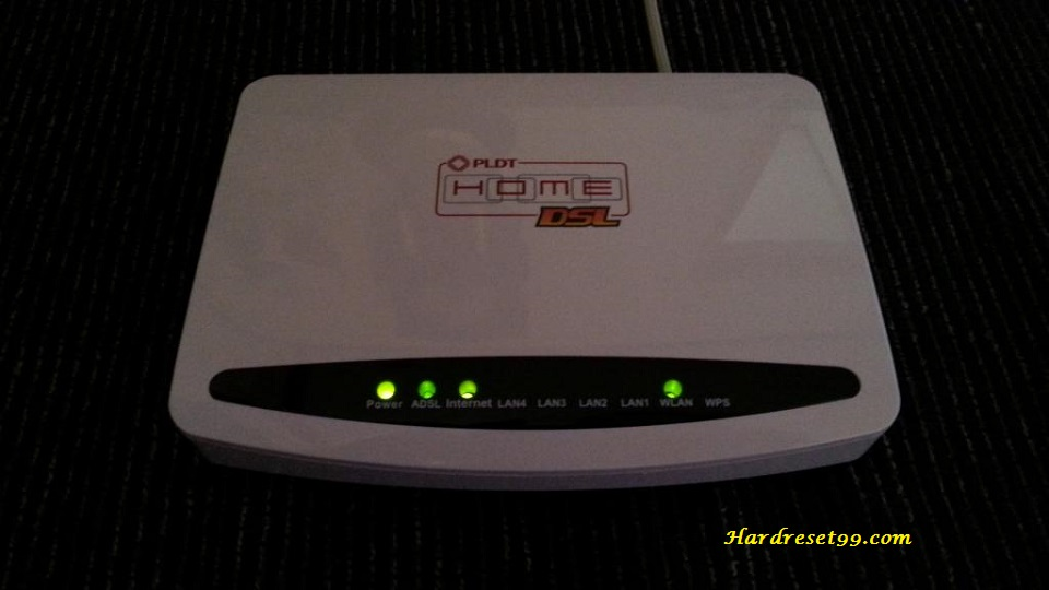 BaudTec RN243R4-2T2R PLDT Router - How to Reset to Factory Settings