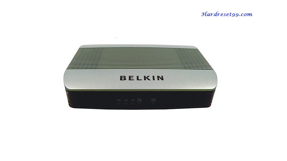 Belkin F5D5730au Router - How to Reset to Factory Settings