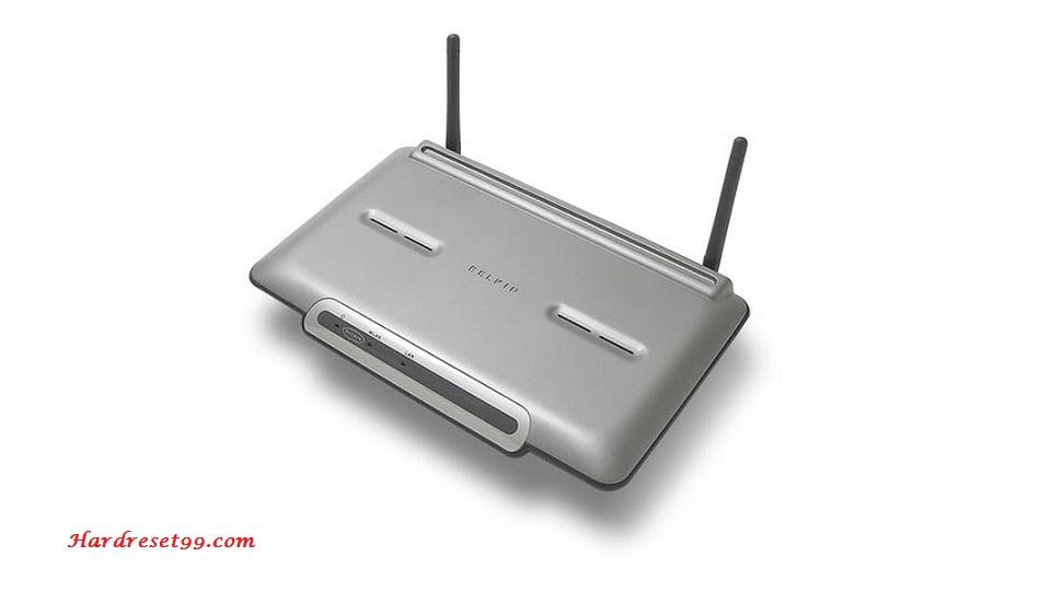 Belkin F5D8231-4v5 Router Download Drivers