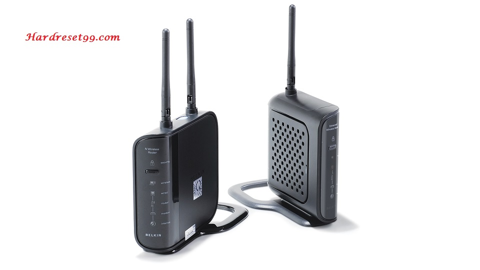 Belkin F6D4230-4-v3 Router - How to Reset to Factory Settings