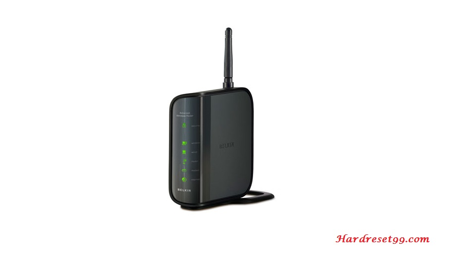 Belkin F6D4230-4v2 Router - How to Reset to Factory Settings