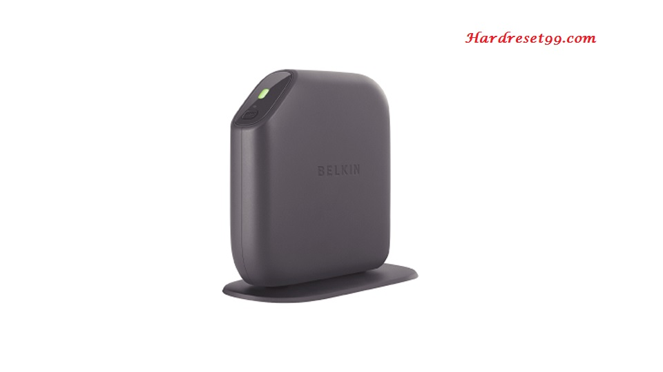 Belkin F7D1301v1 Router - How to Reset to Factory Settings