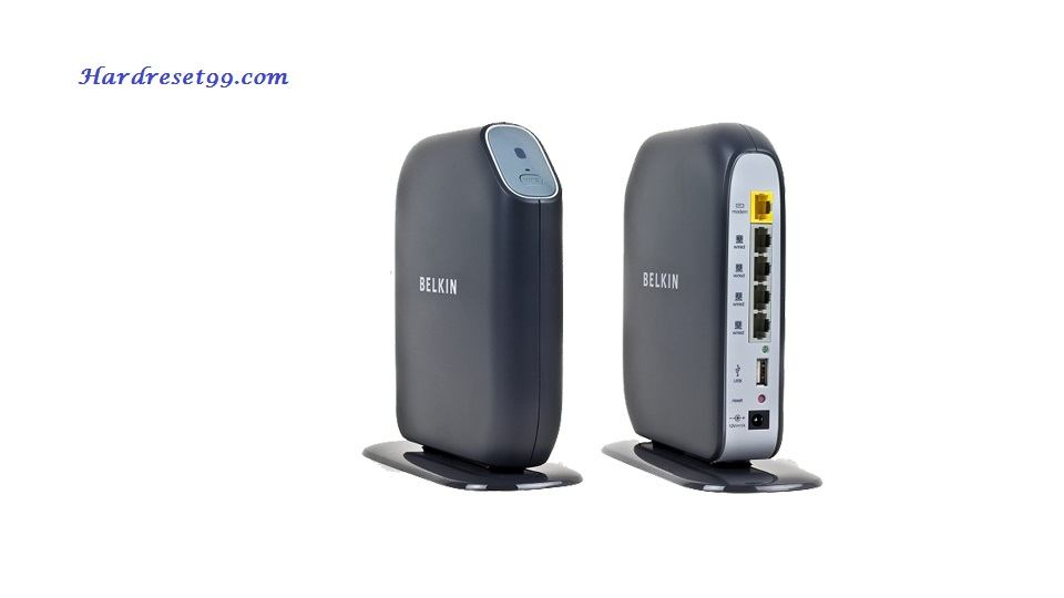 Belkin F7D2301v1 Router - How to Reset to Factory Settings