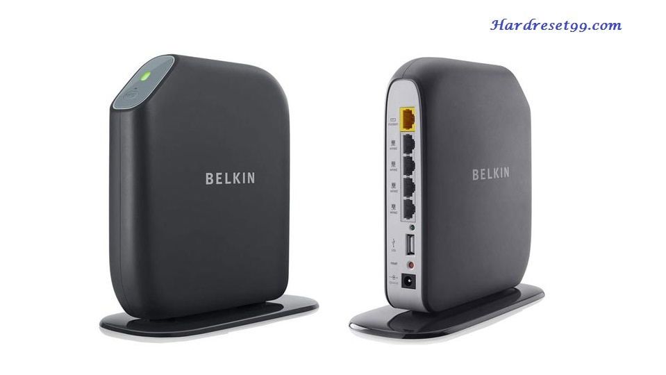 Belkin F7D3402v1 Router - How to Reset to Factory Settings