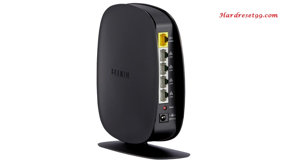 Belkin F9K1009v2 Router - How to Reset to Factory Settings