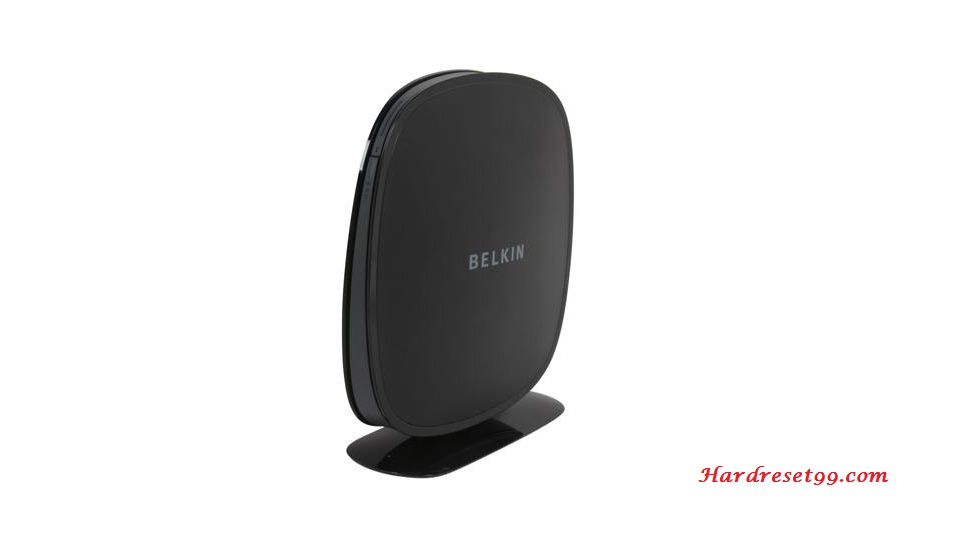 Belkin F9K1105v1 Router - How to Reset to Factory Settings
