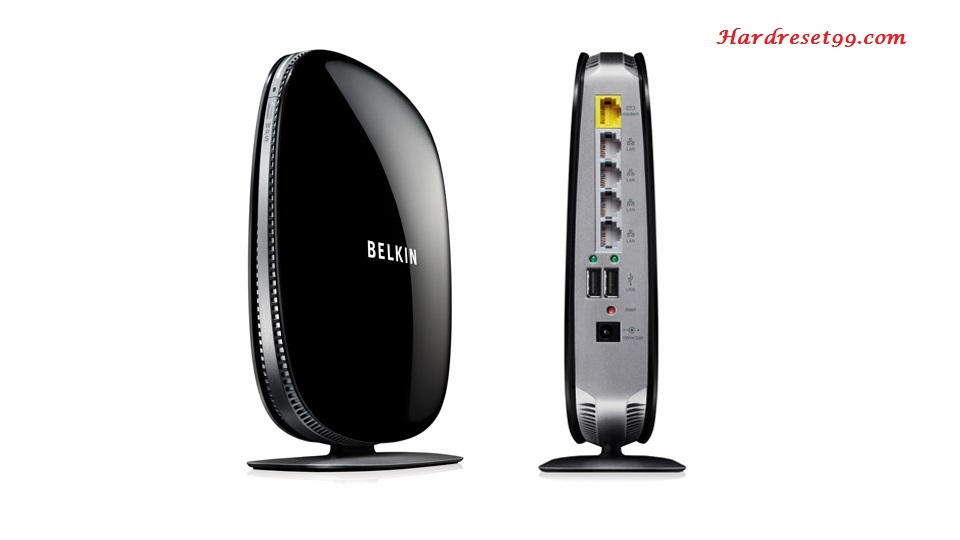 Belkin F9K1105v2 Router - How to Reset to Factory Settings