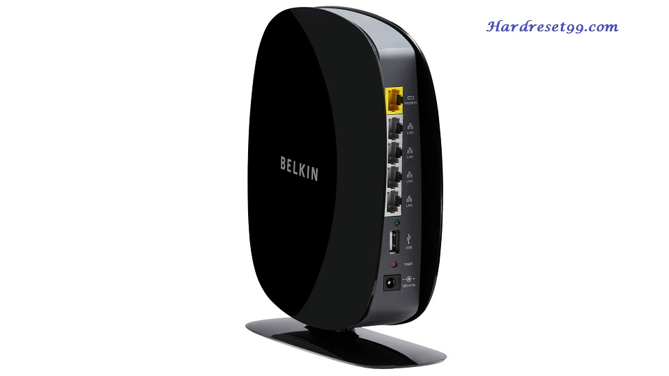 Belkin F9K1116v1 Router - How to Reset to Factory Settings