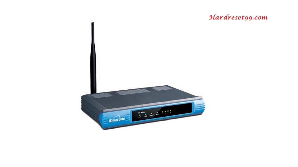 Binatone DT850W Router - How to Reset to Factory Settings