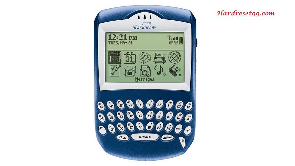 BlackBerry 6210 Hard reset - How To Factory Reset