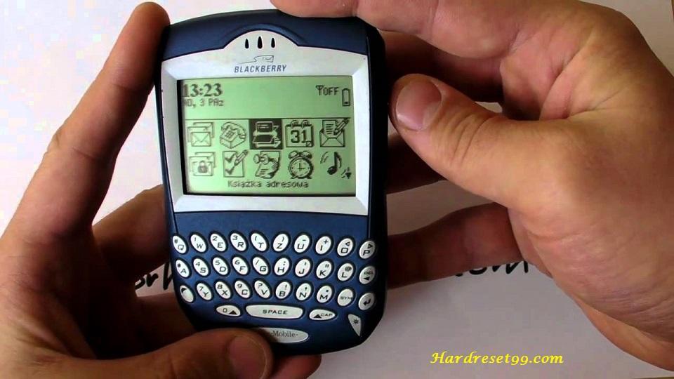 BlackBerry 6230 Hard reset - How To Factory Reset