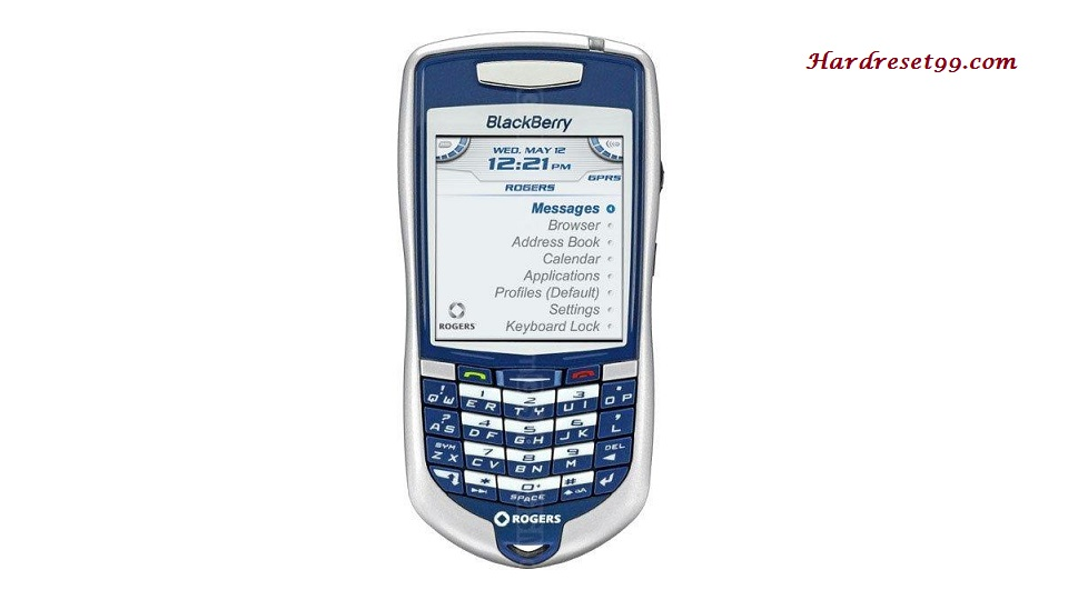 BlackBerry 7100r Hard reset - How To Factory Reset