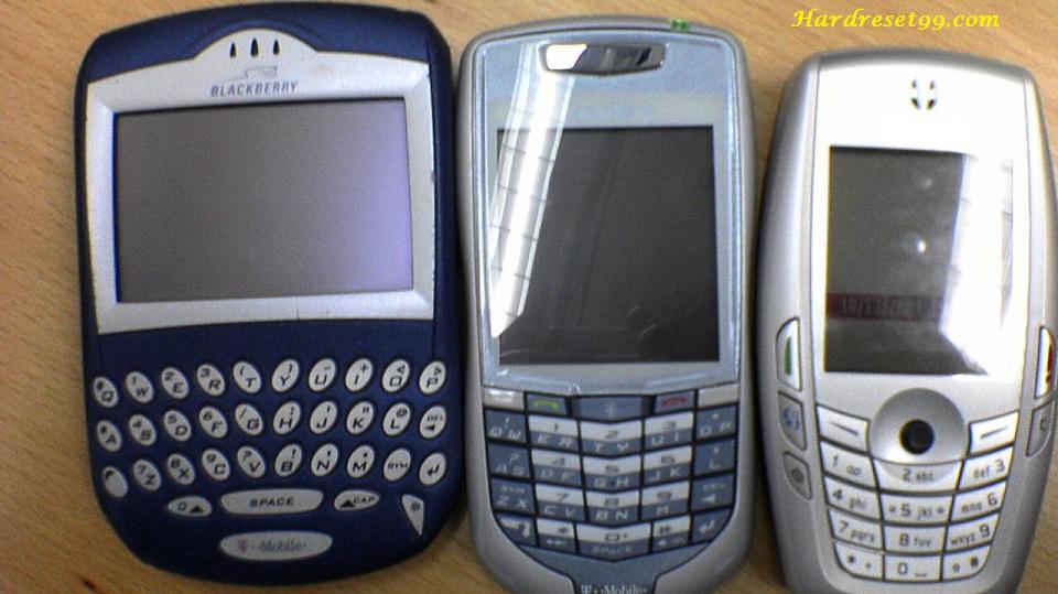 BlackBerry 7100t Hard reset - How To Factory Reset