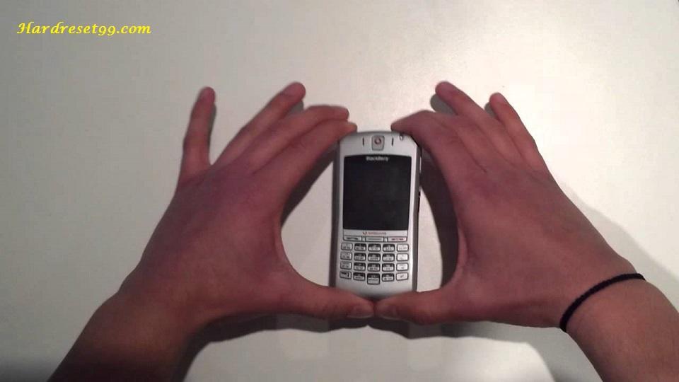 BlackBerry 7100v Hard reset - How To Factory Reset