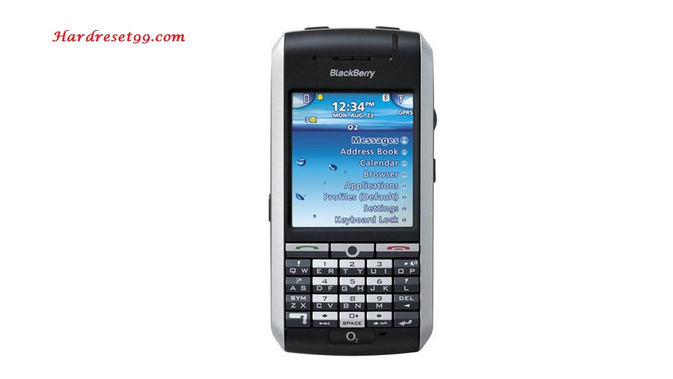 BlackBerry 7100x Hard reset - How To Factory Reset