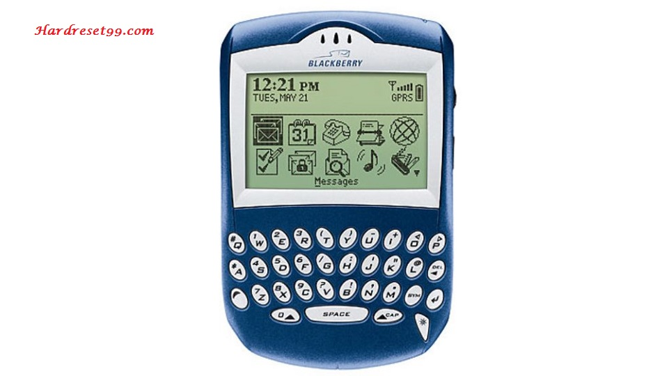 BlackBerry 7210 Hard reset - How To Factory Reset