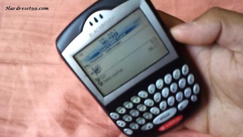 BlackBerry 7290 Hard reset - How To Factory Reset