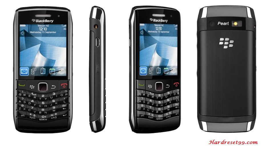 BlackBerry 8100 Pearl Hard reset - How To Factory Reset