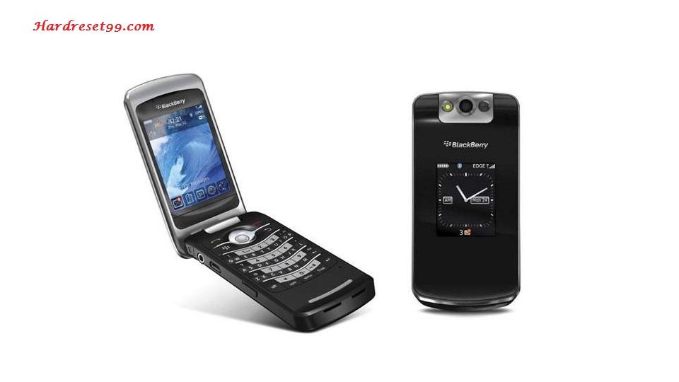 Blackberry 8100 factory reset