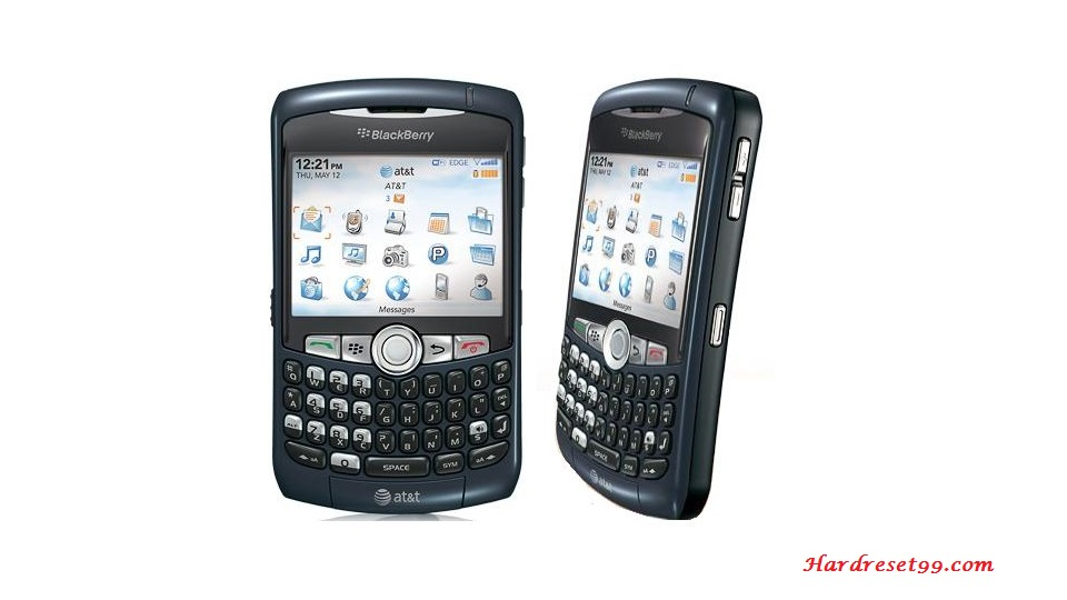 BlackBerry 8310 Curve Hard reset - How To Factory Reset