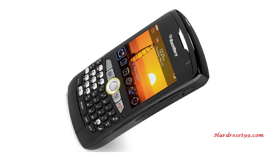 BlackBerry 8350i Curve Hard reset - How To Factory Reset