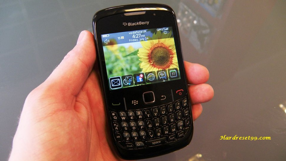 BlackBerry 8520 Curve Hard reset - How To Factory Reset