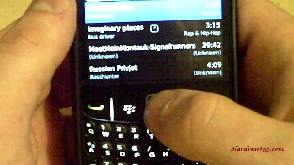 BlackBerry 8530 Curve Hard reset - How To Factory Reset