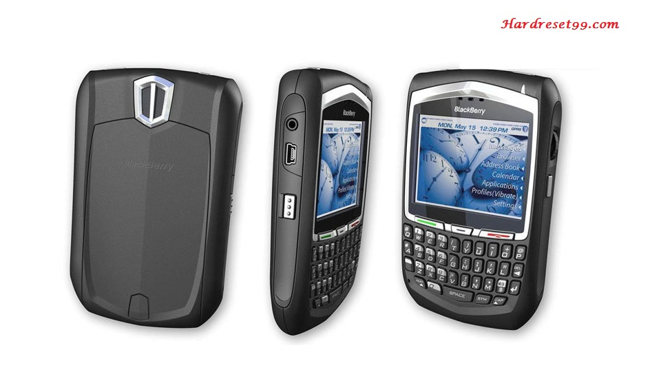 BlackBerry 8700f Hard reset - How To Factory Reset
