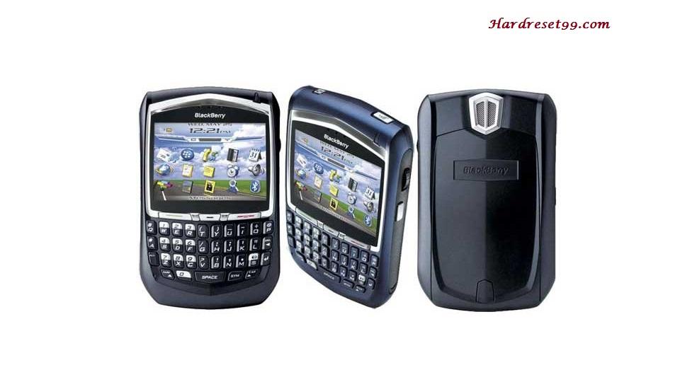 BlackBerry 8700g Hard reset - How To Factory Reset