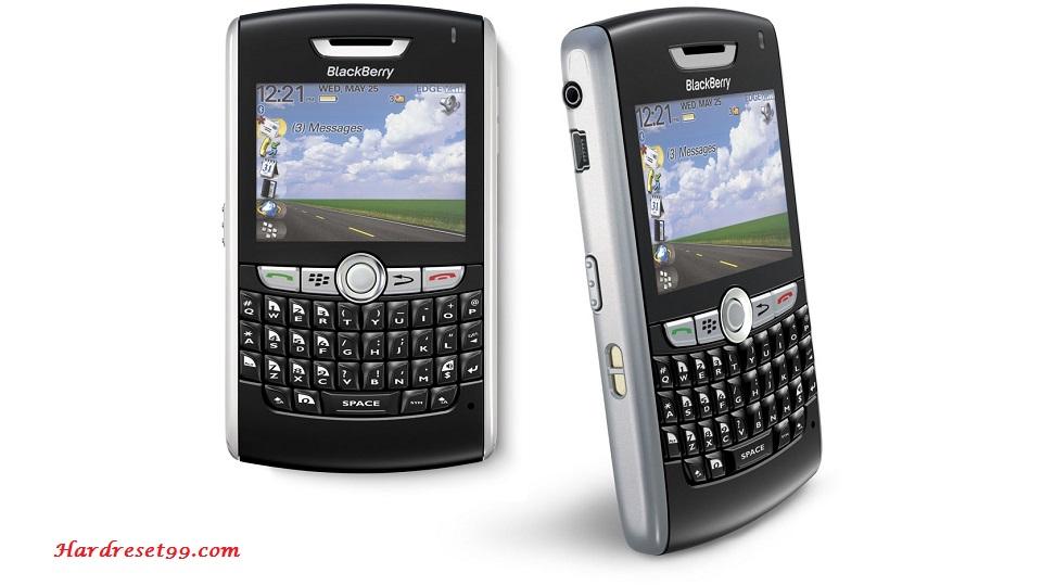 BlackBerry 8800 Hard reset - How To Factory Reset