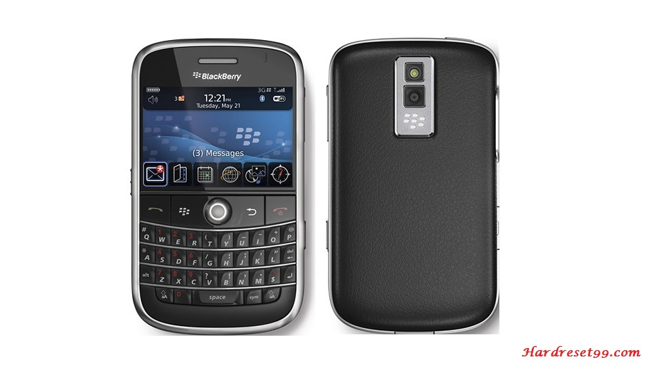 BlackBerry 9000 Bold Hard reset - How To Factory Reset