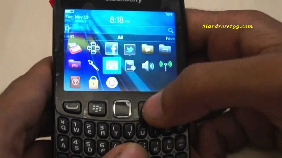 BlackBerry 9220 Curve Hard reset - How To Factory Reset
