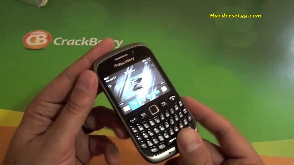 BlackBerry 9310 Curve Hard reset - How To Factory Reset