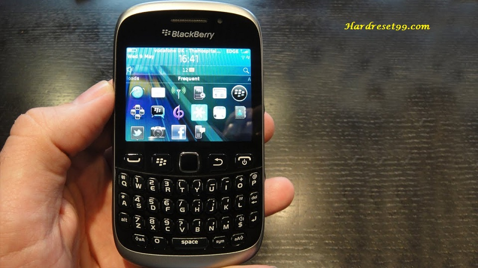 BlackBerry 9320 Curve Hard reset - How To Factory Reset
