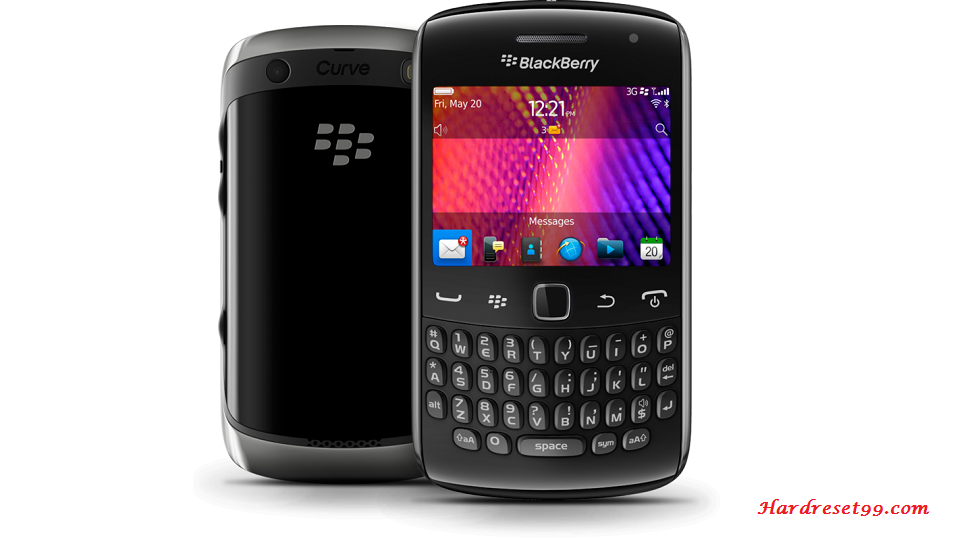 BlackBerry 9370 Curve Hard reset - How To Factory Reset