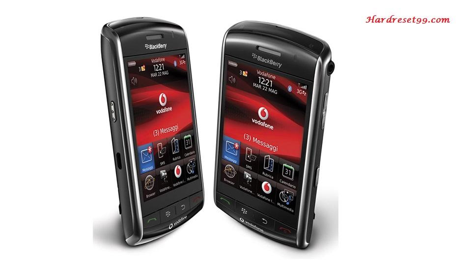 BlackBerry 9500 Storm Hard reset - How To Factory Reset