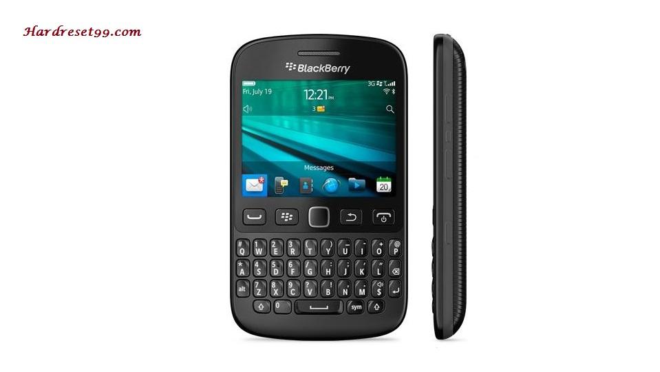 BlackBerry 9720 Hard reset - How To Factory Reset