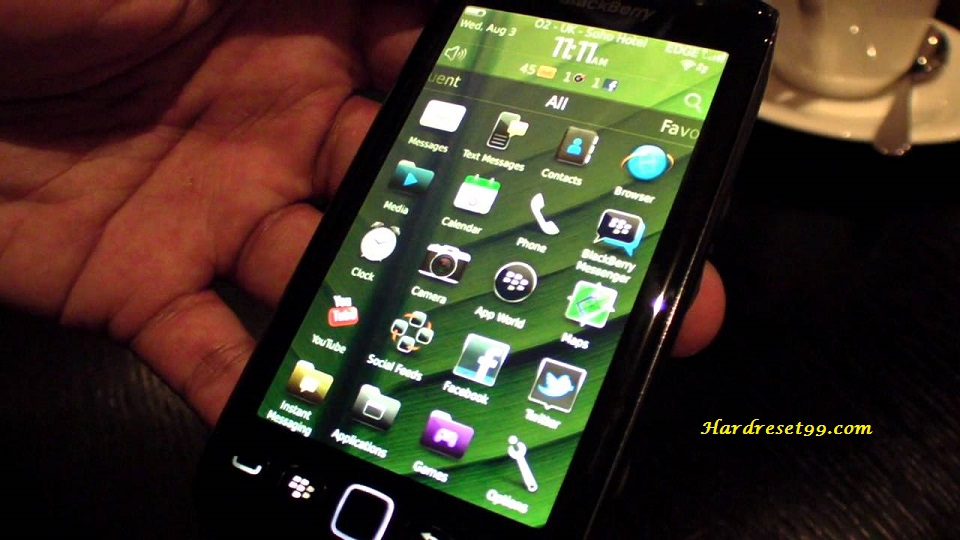 BlackBerry 9860 Torch Hard reset - How To Factory Reset