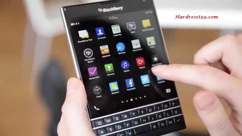 BlackBerry Passport Hard reset - How To Factory Reset